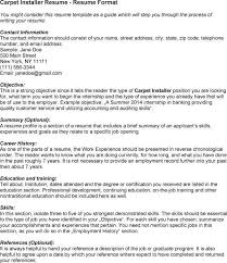 What Is The Skills In A Resume Hvac Installer Resume Hvac Resume Samples 17 Resume Templates