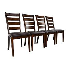 62 off raymour flanigan raymour u0026 flanigan kona dining chairs