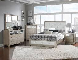 Upholstered Bedroom Sets Homelegance Odelia Button Tufted Upholstered Sleigh Bedroom Set