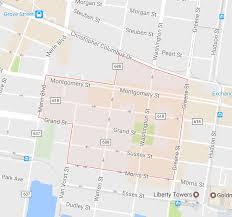 Map Of Jersey City Exploring Jersey City Paulus Hook Neighborhood Hoboken