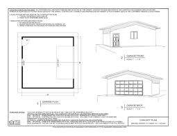 26 u2032w x 26 u2032l garage with 3 12 gable roof u0026 10 u2032 1 u2033 ceiling u2013 maple