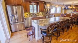 gold kitchen granite countertops