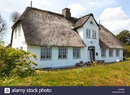 Haus Deutschland Sylt Deutschland 11 Mai 2017 Typisch Friesische Reetdach Haus