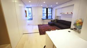 gizmodo the tiny transforming apartment that packs eight rooms
