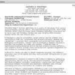 Resume Format Usa Jobs by Federal Resume Sample And Format The Resume Place Usa Jobs Resume