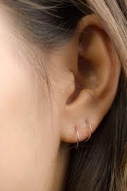 ear piercing hoop helix reifen sehr kleine knorpel reifen wildfawnjewellery