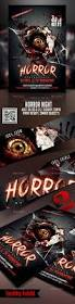 horror night flyer template by take2design graphicriver