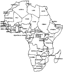 africa map black and white africa map black and white clip library