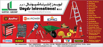 lloyds international wll in doha qatar