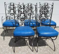 High Back Patio Chair by Wrought Iron Patio Chairs Amazing Chairs