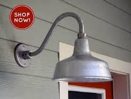 Stainless Steel Outdoor Lighting Fixtures Lighting Design Ideas Industrial Gooseneck Outdoor Lighting