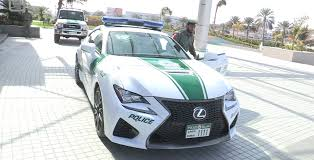 lexus from dubai dubai police add cool to lineup with lexus rc f u2022 cf blog