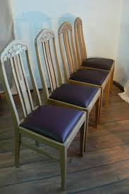 german antique oak dining chairs set 4 for sale at pamono