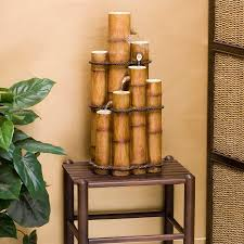 indoor bamboo fountain great home decor cool ideas for bamboo