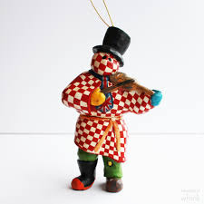 clar mummer ornament whink ornament