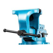 capri tools ultimate grip 7 in forged steel bench vise cp10517