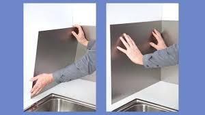 panneaux muraux cuisine panneau mural cuisine etape 3 apposez en premier le bas de la