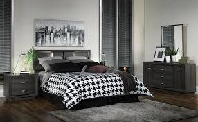 gerard 4 piece queen bedroom set deep grey leon u0027s