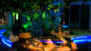 flo led landscape u0026 backyard led lighting youtube