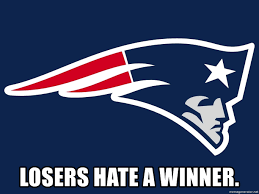 Meme Generator Logo - losers hate a winner patriots logo meme generator