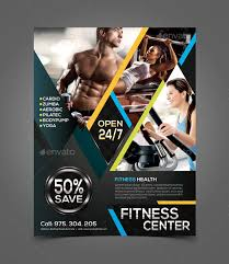 fitness flyer template advertising flyers search planet fitness