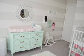 Wooden Nursery Decor by Baby Nursery Nursery Chest Drawer And Changing Table Beige