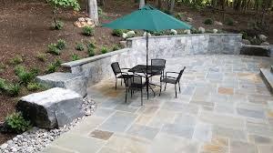 Patio Stone Designs Pictures by Stone Patio U0026 More Landscape Design Haymarket Va Case Study