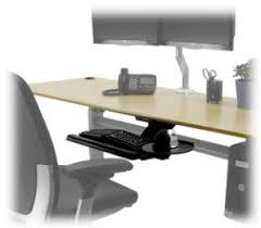 Computer Desk With Adjustable Keyboard Tray Adjustable Height Desks Keyboard Trays Finding The Right