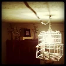 Diy Vintage Chandelier Tunes And Spoons Diy Vintage Birdcage Chandelier