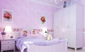 pink cartoon little bedroom interior design