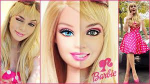 Mac Halloween Makeup by Barbie Makeup Tutorial U0026 Costume Idea Halloween 2014 Jackie
