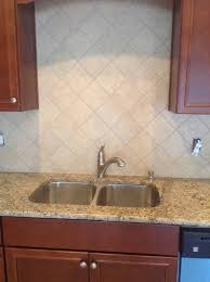 Red Kitchen Backsplash by Granite Countertop Melamine Cabinet Construction How To Install