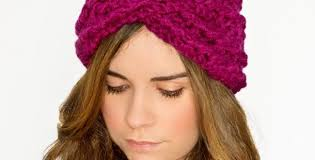crochet hairband more about crochet headband patterns thefashiontamer