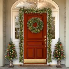 three posts spruce pre lit wreath with clear lights reviews