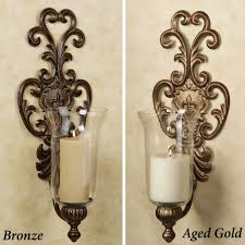 interior design decoration wall sconces with candles home decor