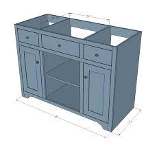 build your own bathroom vanity plans u2013 2bits
