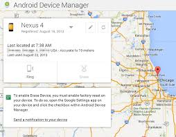 android device manager find your lost android devices with the automatically enabled