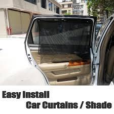 Car Curtains Side Rear Window Cover Shade Easy Diy Install Simple