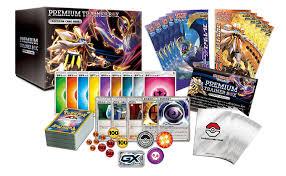 Pokemon Trainer Card Designer Amazon Com Pokemon Card Game Sun U0026amp Moon Premium Trainer Box