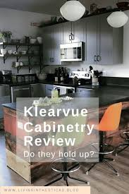 kitchen sink base cabinet menards review klearvue cabinetry living in the sticks