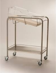 stainless steel open bassinets novum medical