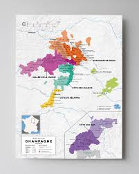 Map Of France Wine Regions by Champagne Wine Region Map France Wine Posters Wine Folly