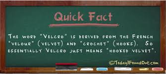 where the word velcro came from