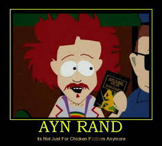 Ayn Rand Meme - political memes ayn rand it s not just for chicken f anymore