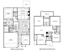 2nd floor plan emerson floor plan at highlands at sawnee mountain in cumming ga