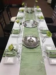 sage green table runner 17 best sage green wedding theme images on pinterest green