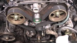 toyota v6 5vzfe timing belt replacement diy part 2 youtube