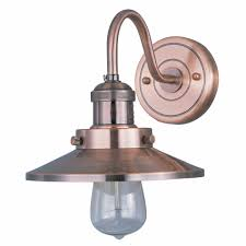 One Light Wall Sconce Maxim Mini Hi Bay 1 Light Gooseneck Wall Sconce 8 U0027 U0027 Metal Shade