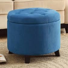 blue ottomans hayneedle