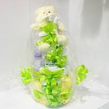 baby shower nappy cake hanging basket florist rockingham